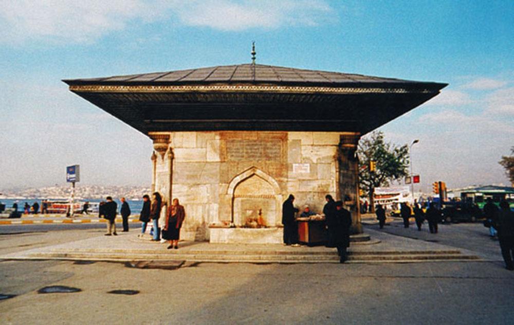 ÜSKÜDAR III. AHMET ÇEŞMESİ DOĞU CEPHESİ R.Ö.