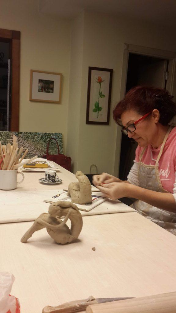Yeni heykel çalışması / New sculpture work