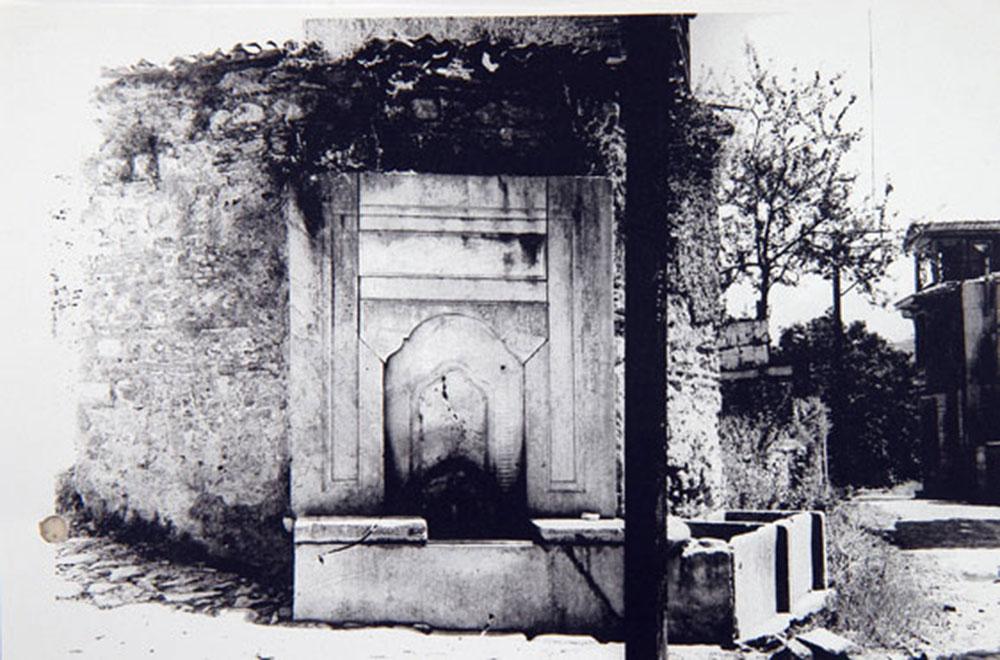 Üsküdar Abdullah Ağa Çeşmesi (orijinal fotoğrafı) / Üsküdar Abdullah Ağa  Fountain  (original photo