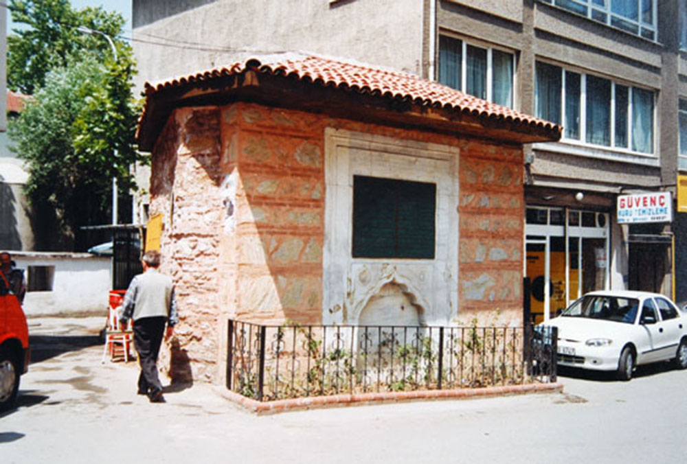 Üsküdar  Damad İbrahim Paşa çeşmesi. / Uskudar  Damad Ibrahim Paşa Fountain