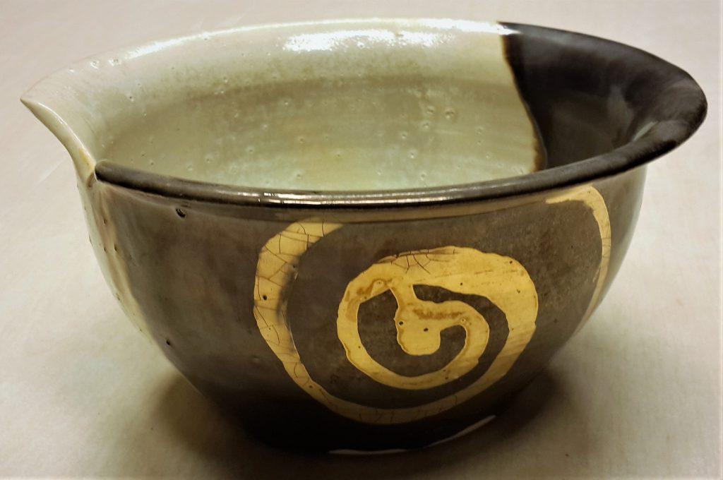 Altın Helezon Çanaklar / Gold Spiral Potteries